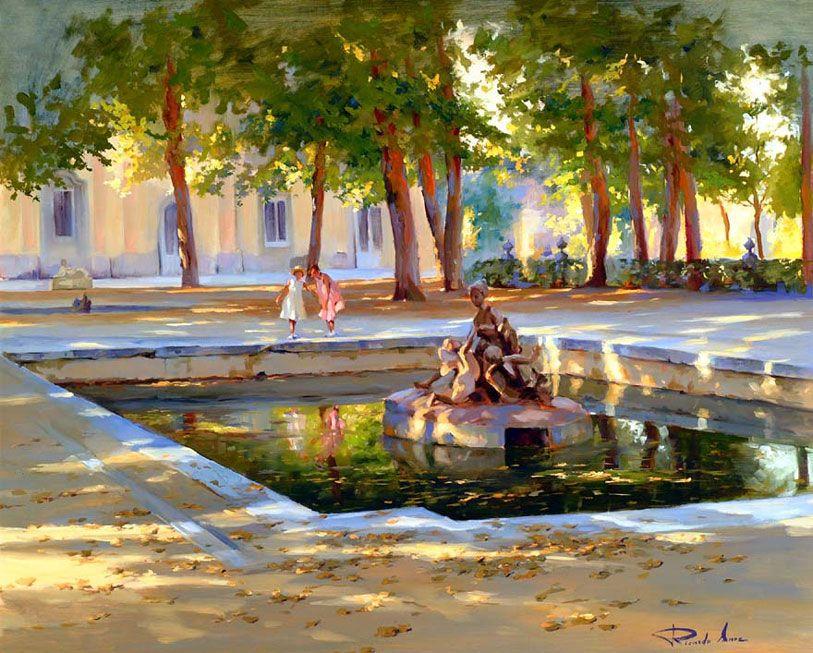 Ricardo-Sanz-En-Los-jardines-de-La-Granja-65X81-cms