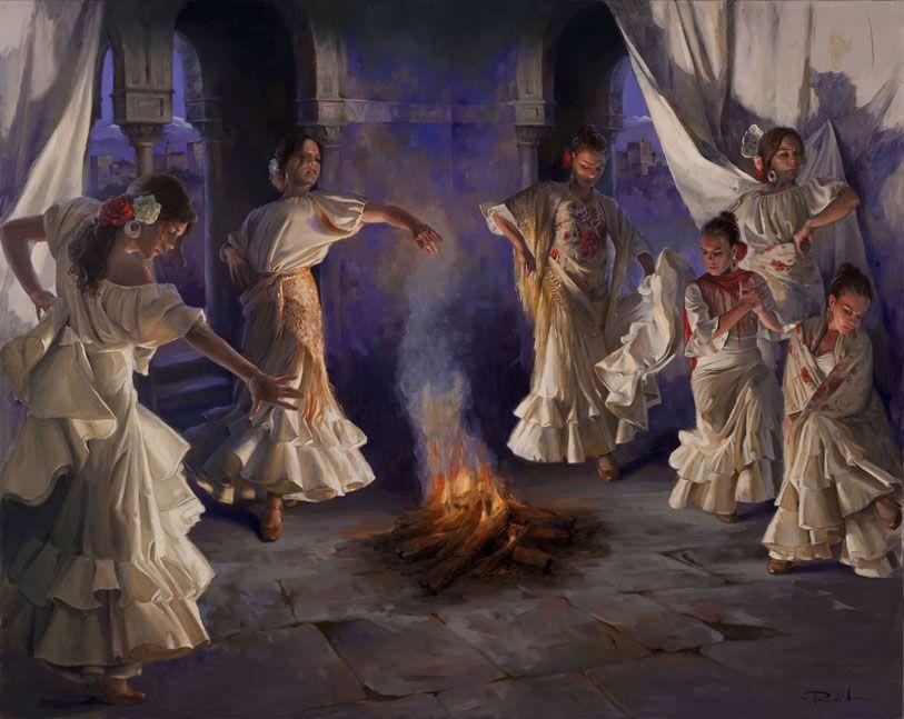 Ricardo-Sanz-Flamencas-al-alba-130X162-A-cms