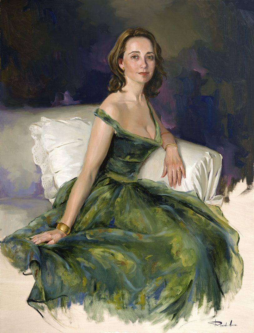 Ricardo-Sanz-Retrato-de-Cristina-Larroy-116X89-cms