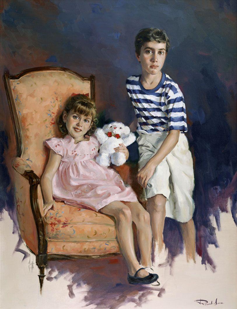 Ricardo-Sanz-Retrato-de-Lorena-Y-Eduardo-Sanz-116X89-cms