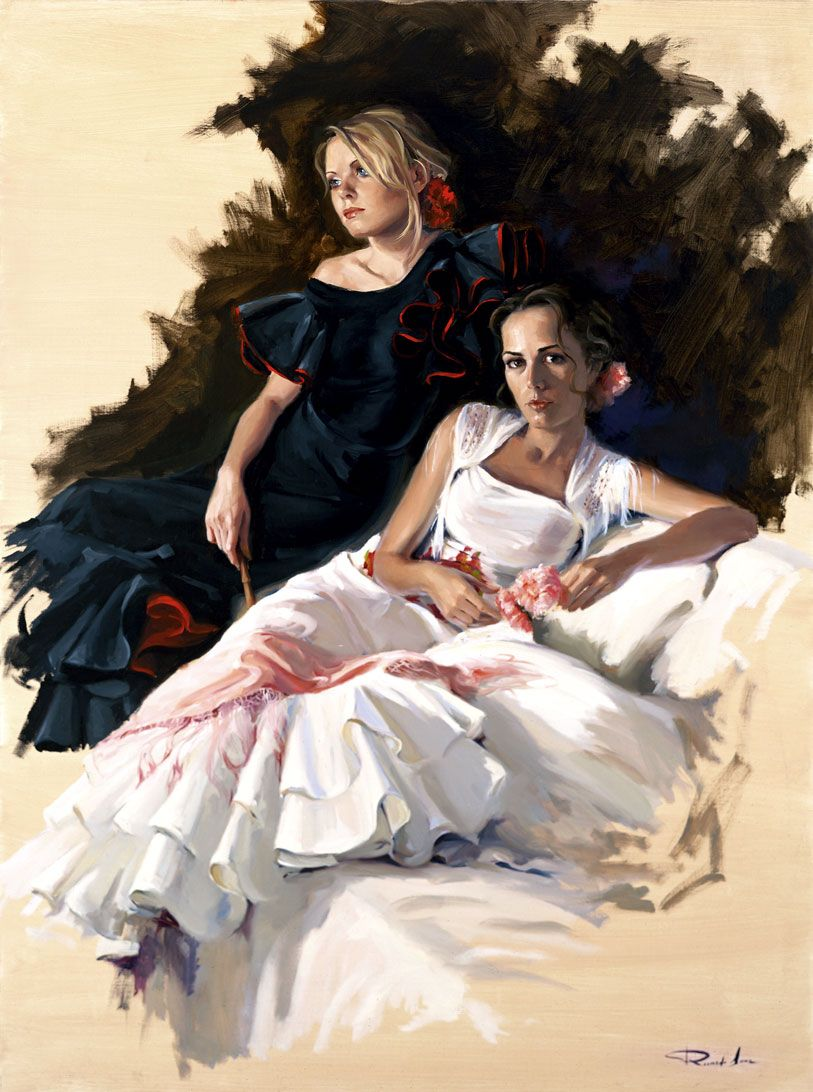 Ricardo-Sanz-Vestidas-de-flamencas-130X97-cms