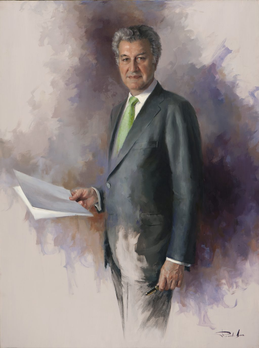 Retrato de D. Jesús Posada