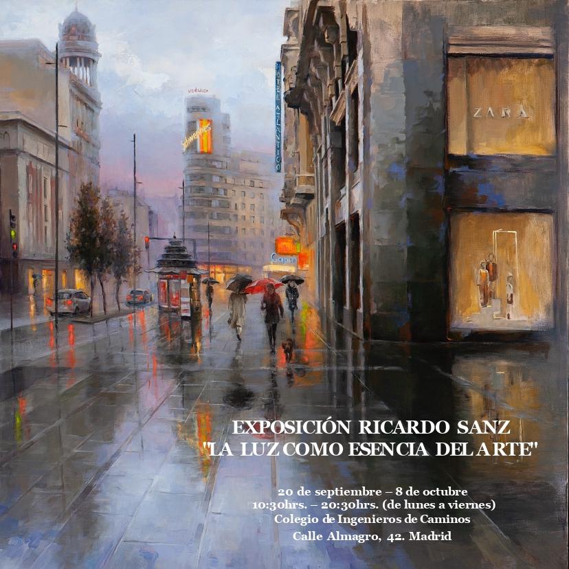Exposición Ricardo Sanz en madrid